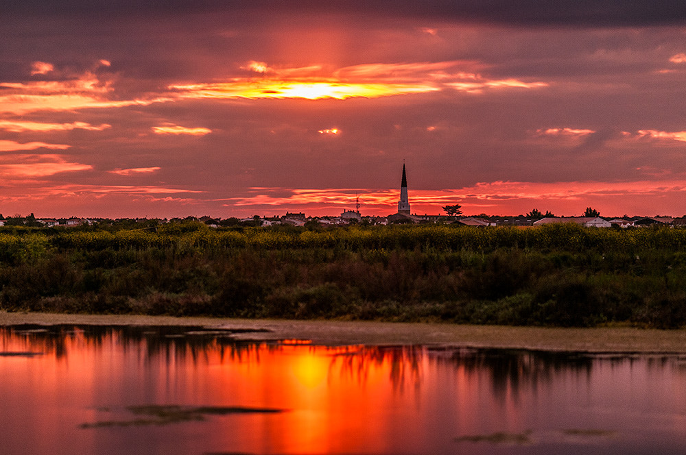 Photograph Sunset on Ars-en-Ré by Pierre Nadler on 500px