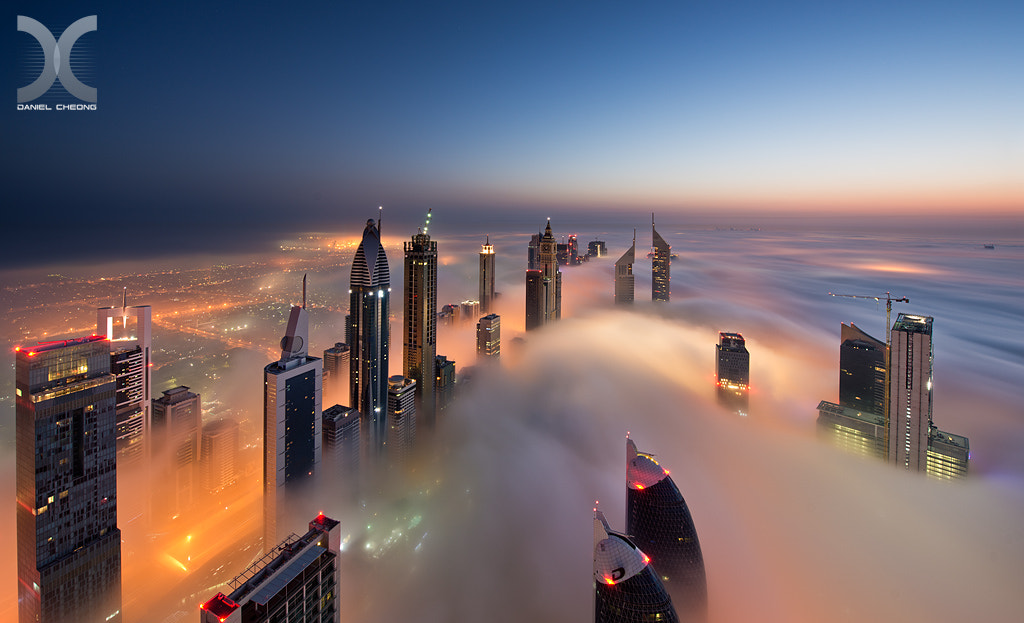 Photograph Dawn on Cloud City by Daniel Cheong on 500px