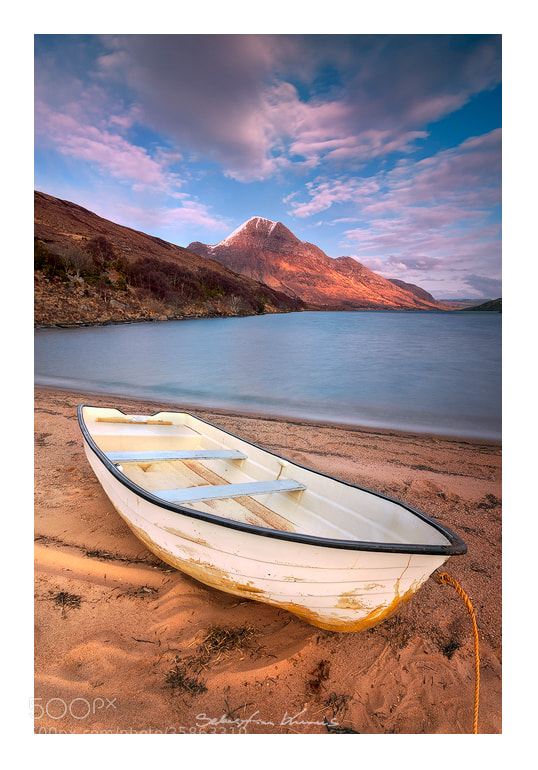 Photograph The white boat by Sebastian Kraus on 500px