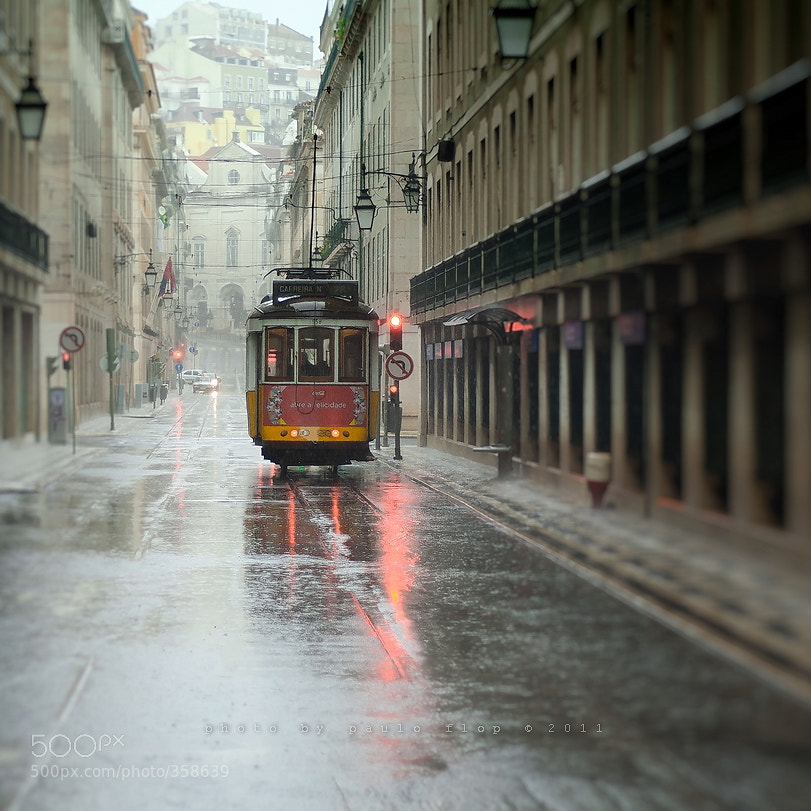 Photograph In Lisbon rain. by Paulo FLOP on 500px