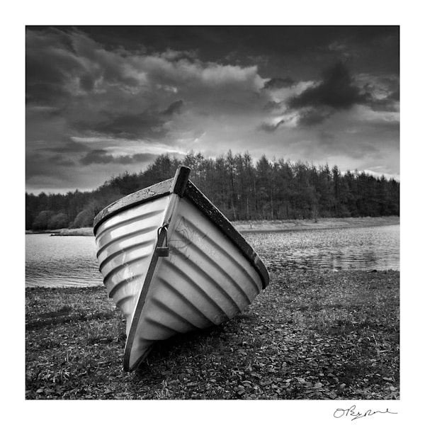 Photograph Lone Boat by Ollie Byrne on 500px