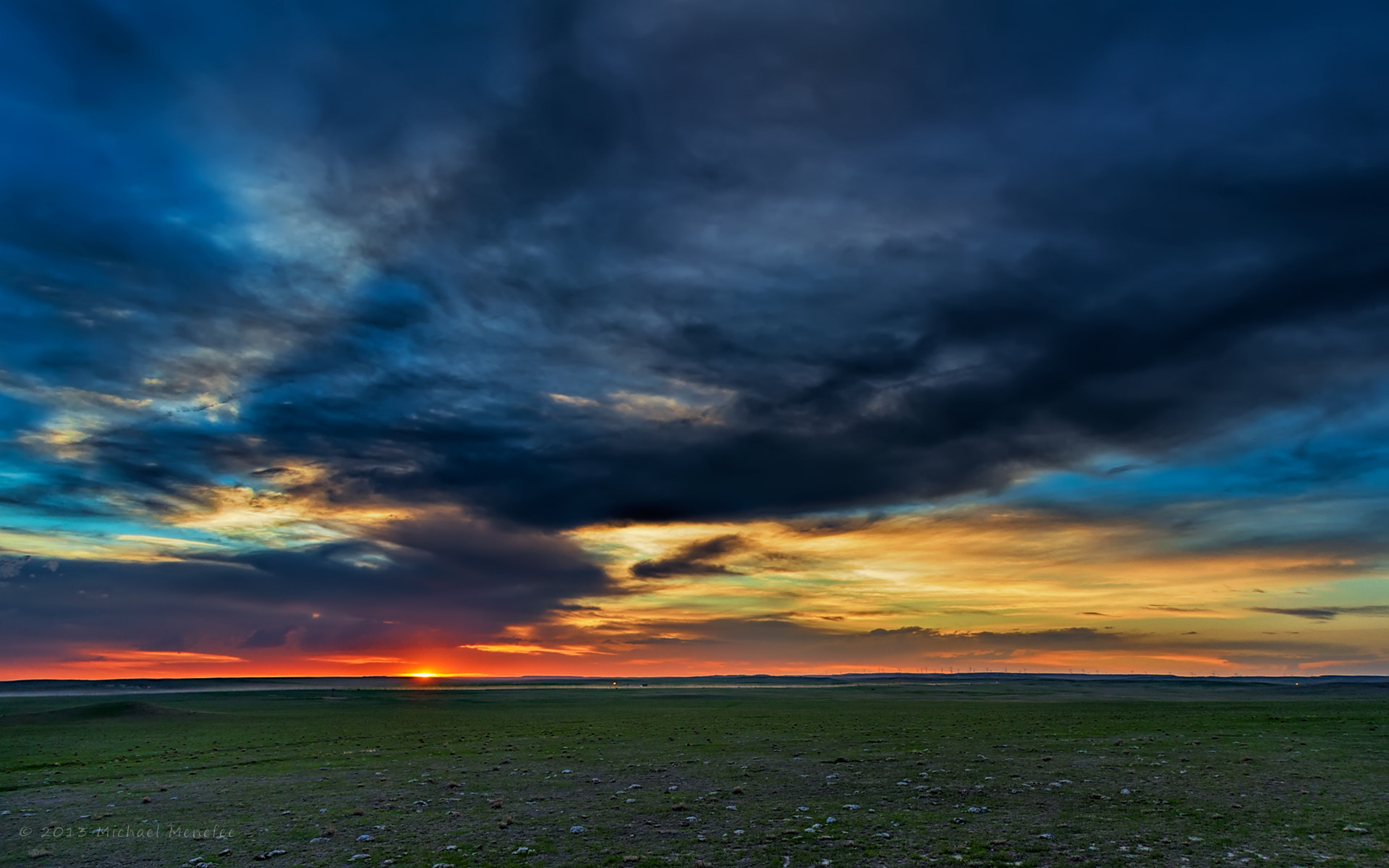 Photograph Spring Sunset Sublime on the Pawnee by Michael Menefee on 500px