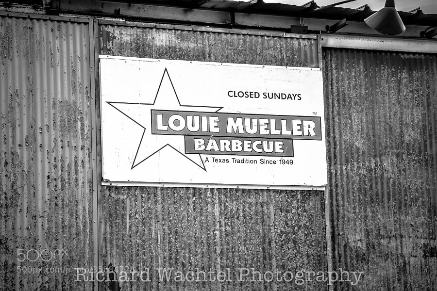 The Entrance to Louie Muller BBQ by Richard Wachtel (richardwachtel)) on 500px.com