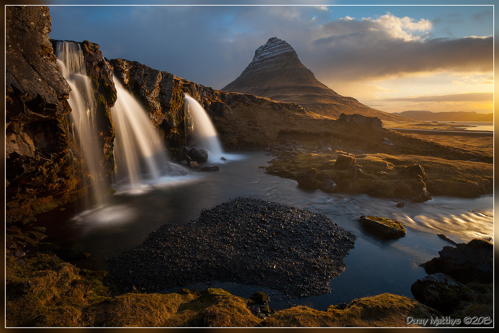 Photograph The first light on Kirkjufell by Danny Matthys on 500px