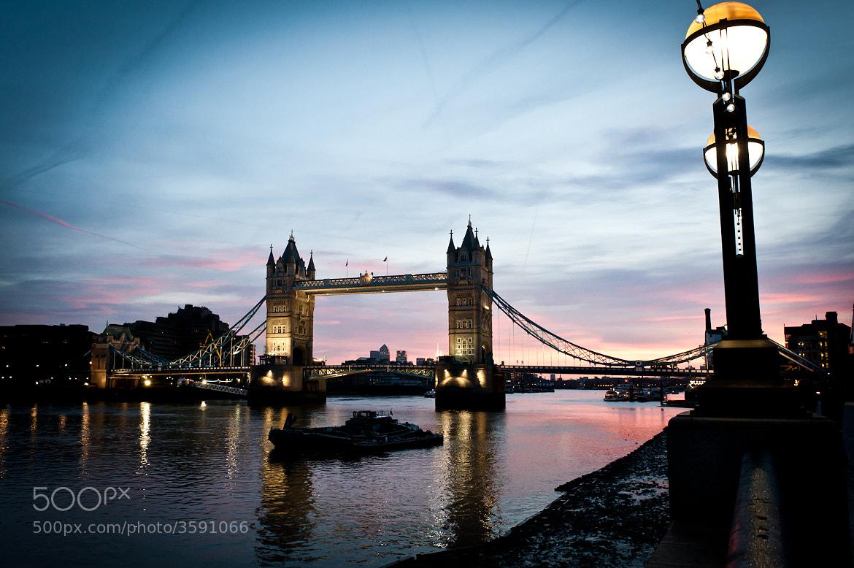 Photograph tower bridge at dawn by Rowan Hunn on 500px