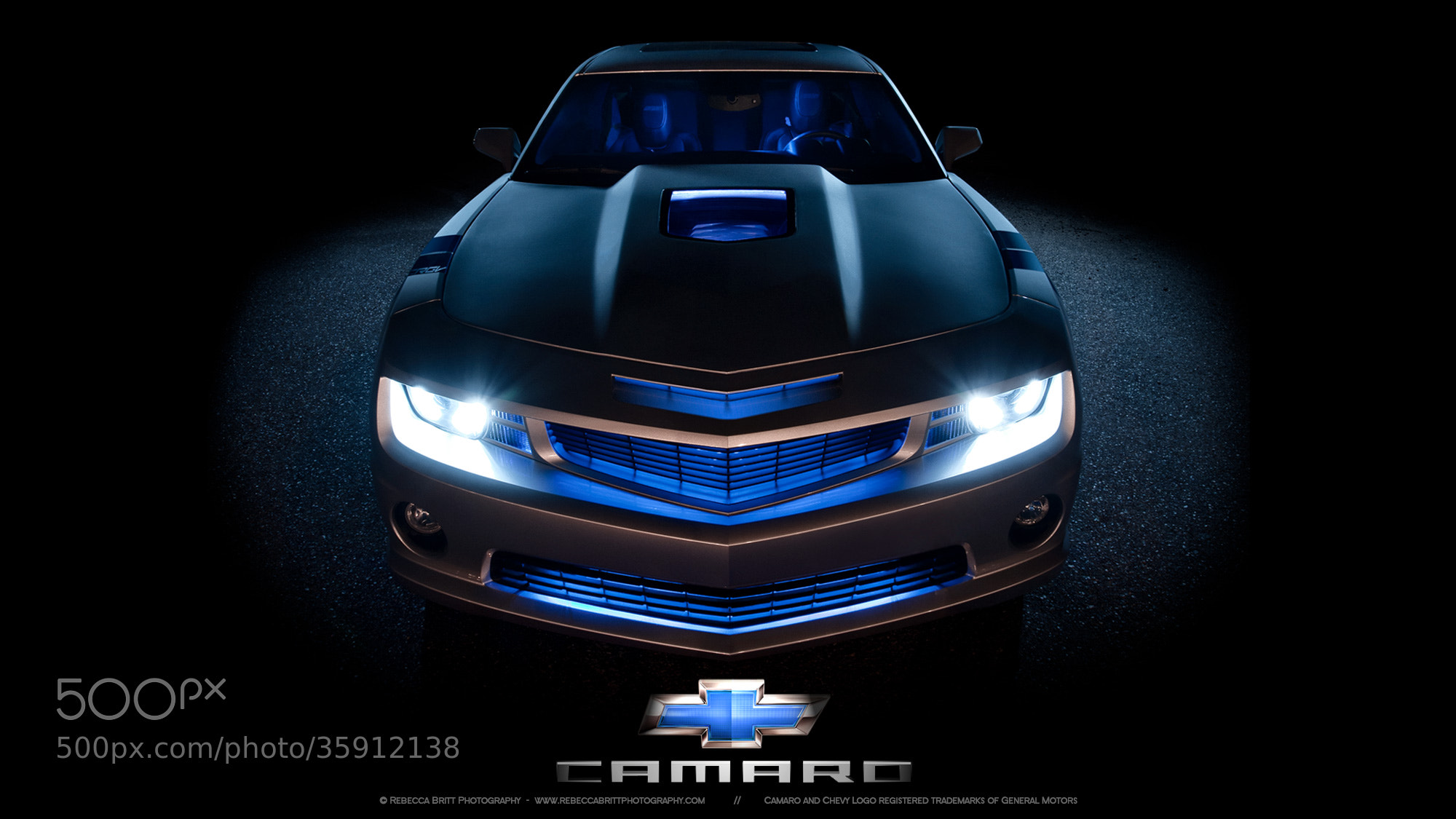 Photograph Chevy Camaro Light Painting by Rebecca Britt on 500px