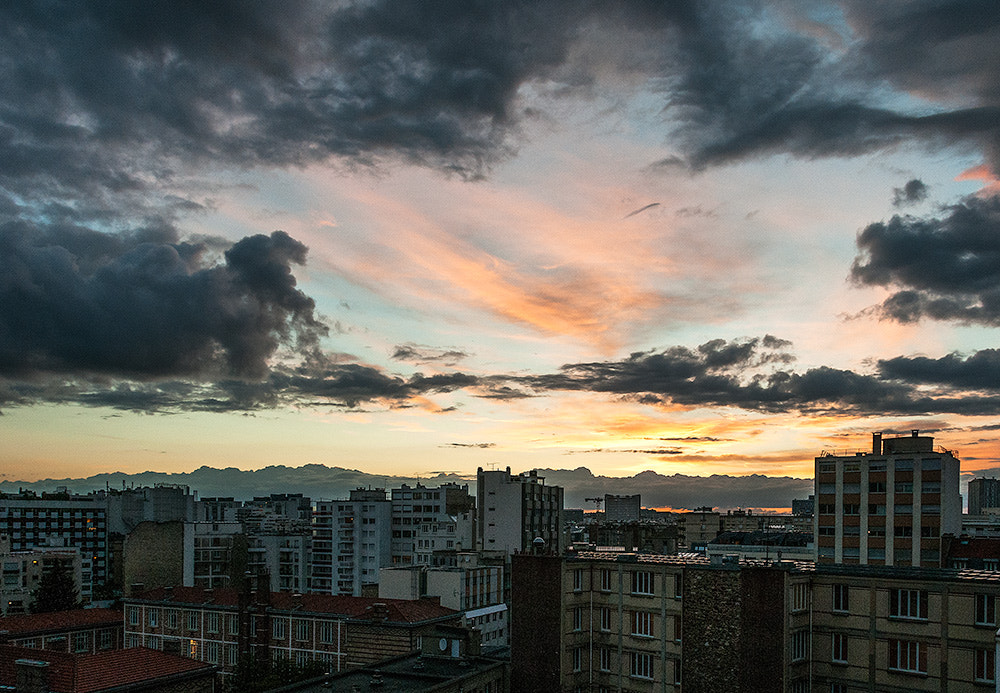 Photograph Cloudy sunset by Pierre Nadler on 500px