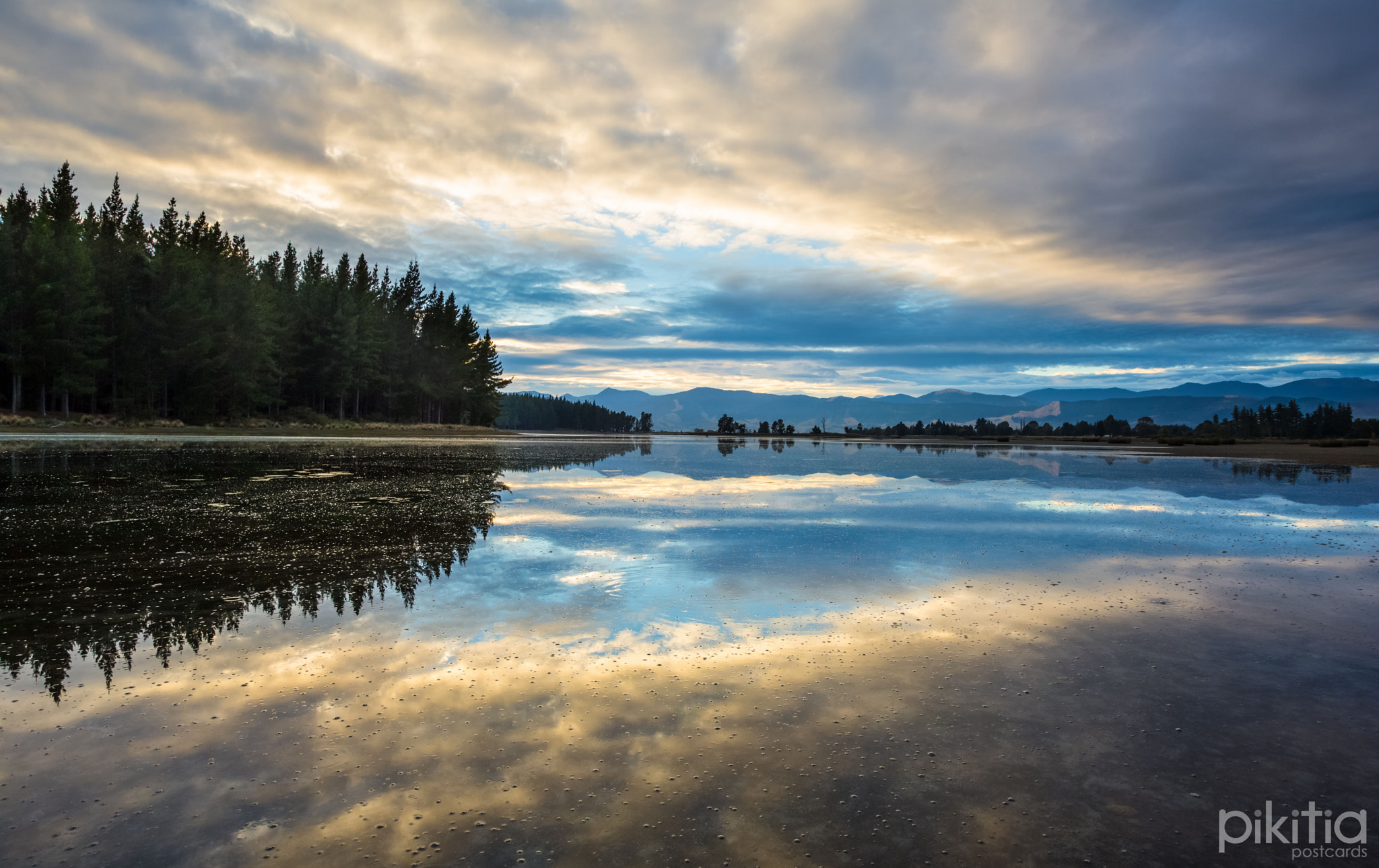 Photograph Reflections of Nelson in the Marsh by Pikitia Postcards  on 500px
