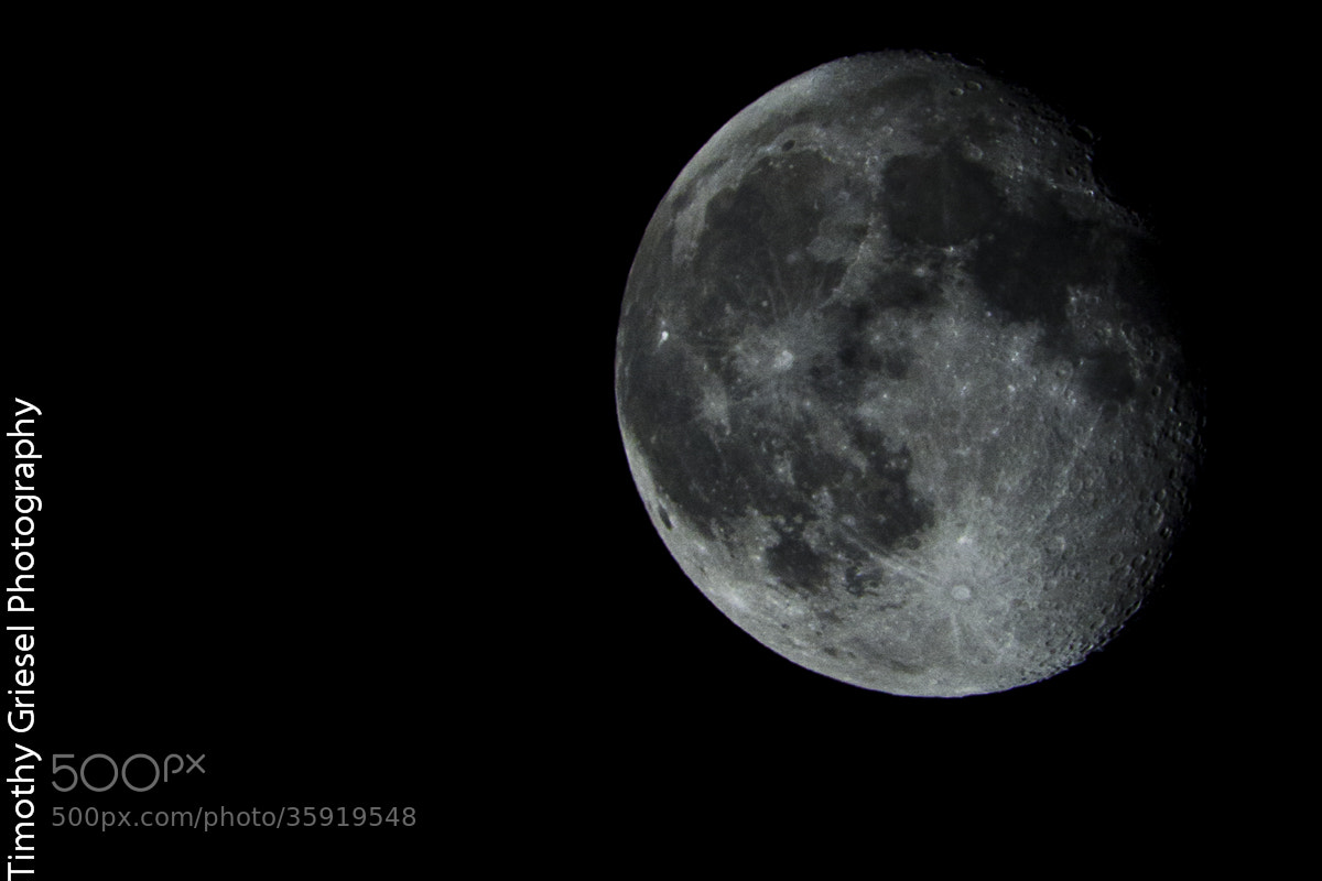 Photograph Moon detail by Timothy Griesel on 500px