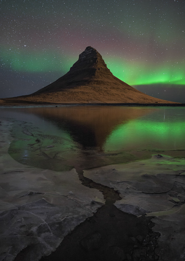 Photograph Kirkjufell reflection by John Q on 500px