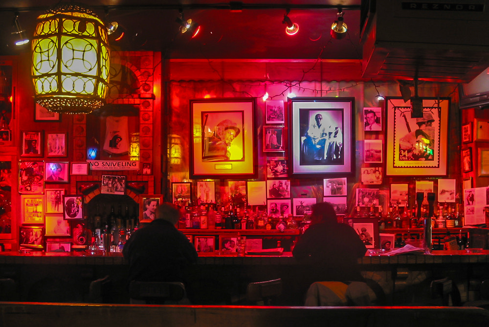 Photograph Evangeline's Bar by Steve Knight on 500px