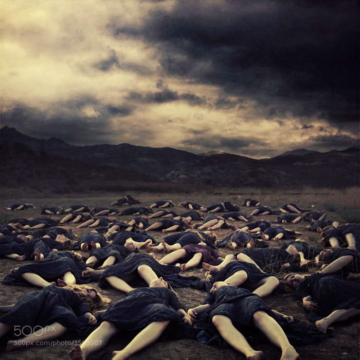 Photograph The Fallen by Brooke Shaden on 500px