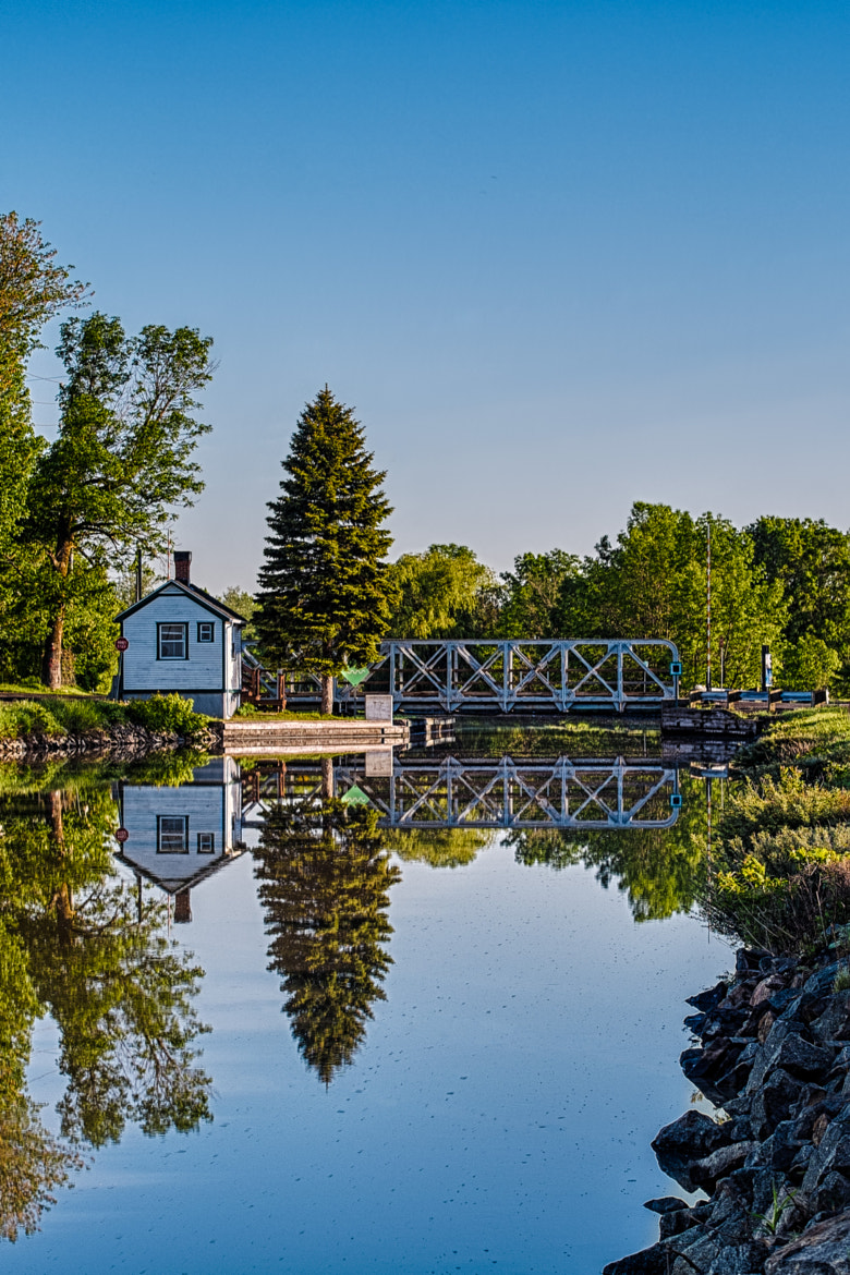 Photograph Pont 4 Canal Chambly by Sébastien Trudeau-Dion on 500px