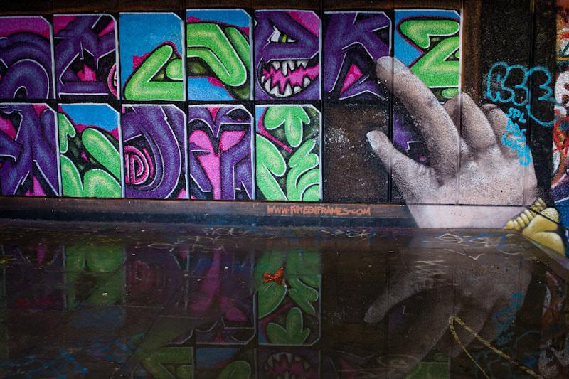 Southbank Graffitti