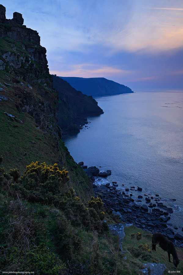 Dusk at the Valley of the Rocks