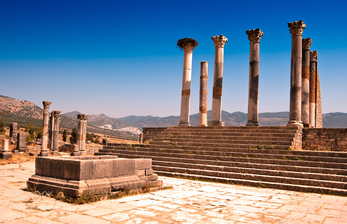 Photograph Volubilis  - Roman Ruins by Gary Thom on 500px