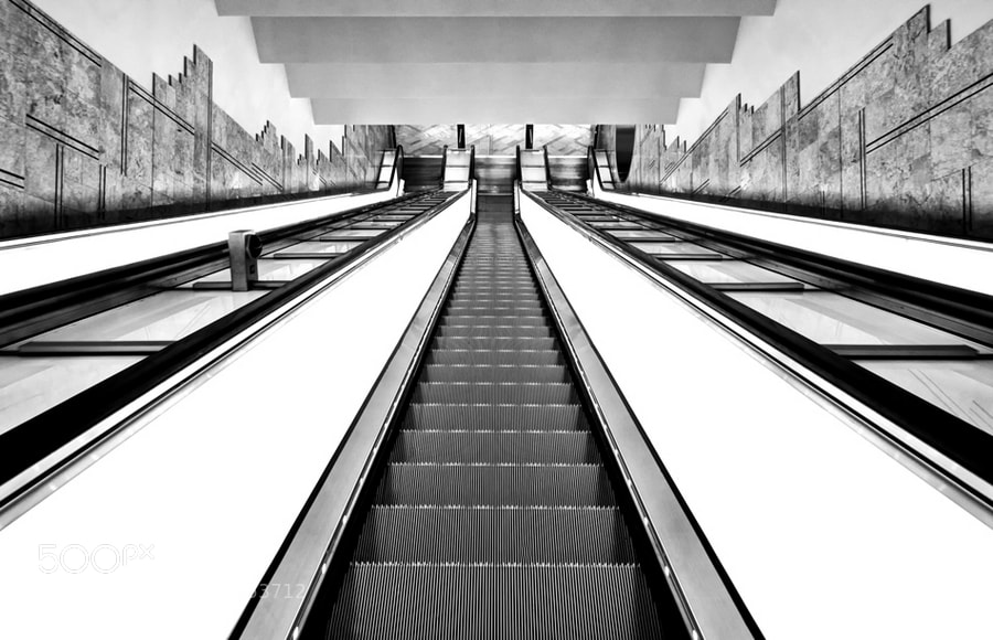 Photograph Escalator n° 2 by Nino Schisano on 500px