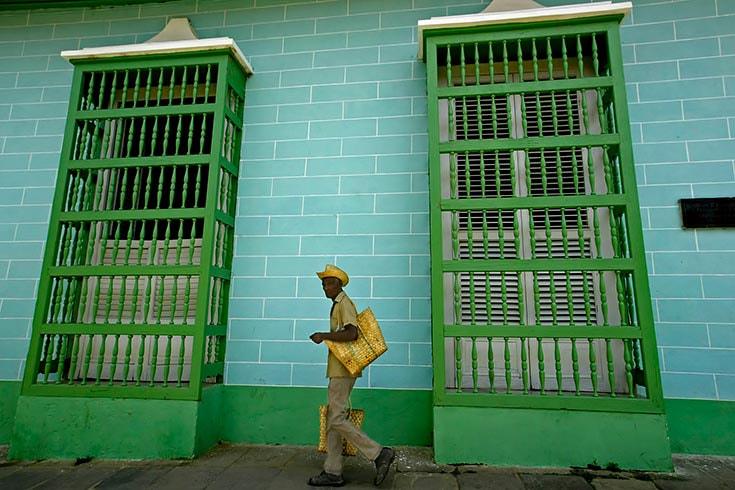 Cuban Street Seller