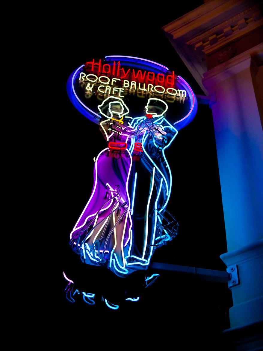 Photograph Hollywood Roof Ballroom & Cafe by Jim Roberts on 500px