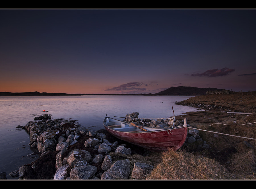 Sunset in the Outer Hebrides.