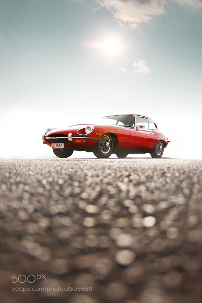 Photograph Jaguar E-Type by Konstantinos Sidiras on 500px