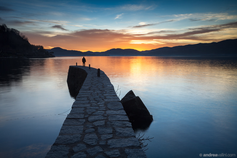 Photograph One man alone by Andrea Vallini on 500px