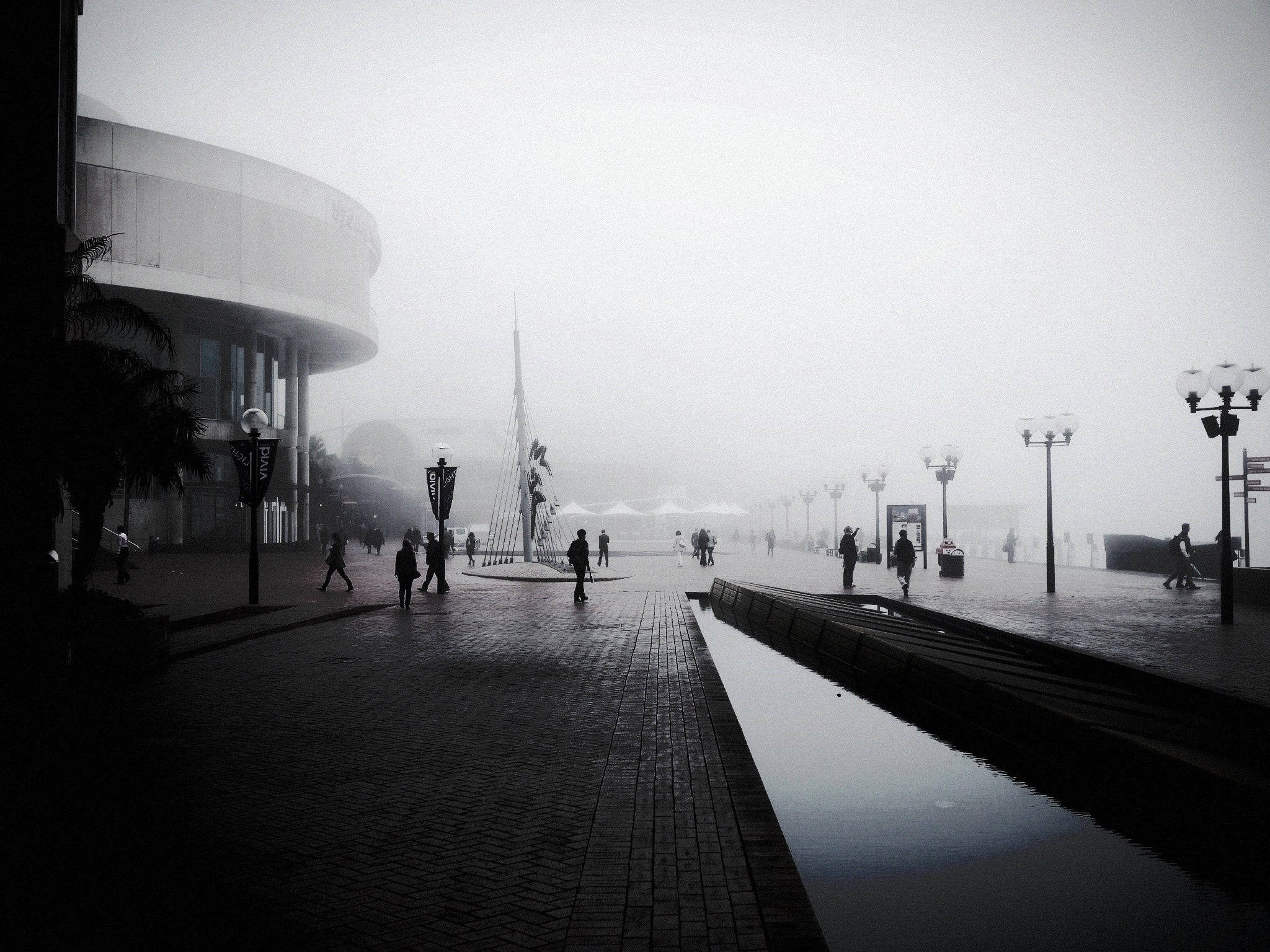 Photograph Misty Morning at Darling Harbour by tsuken on 500px