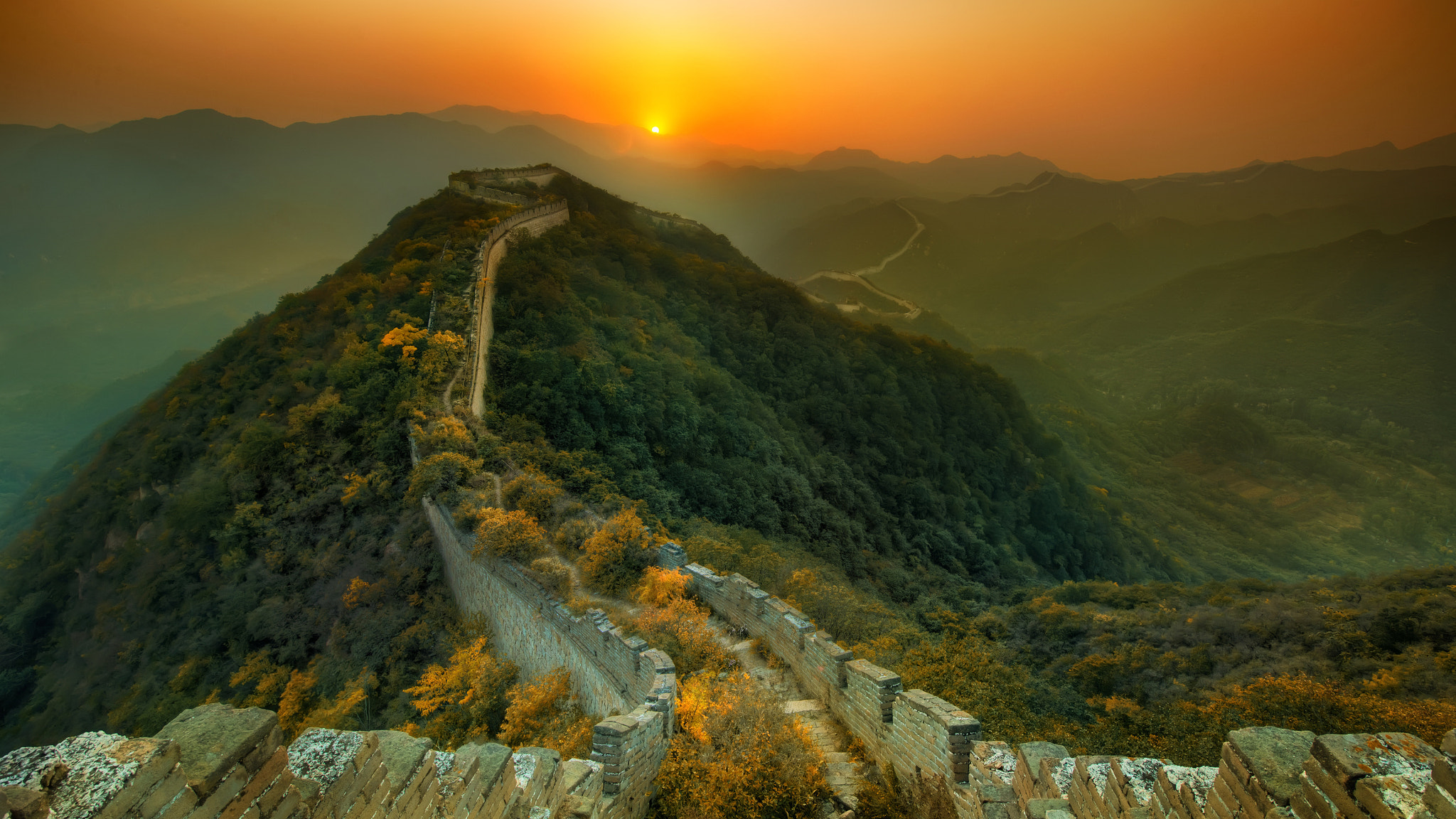 Photograph The Great China Wall by Kashaan Pansoota on 500px