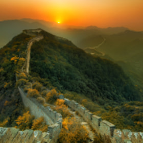 The Great China Wall by Kashaan Pansoota on 500px.com