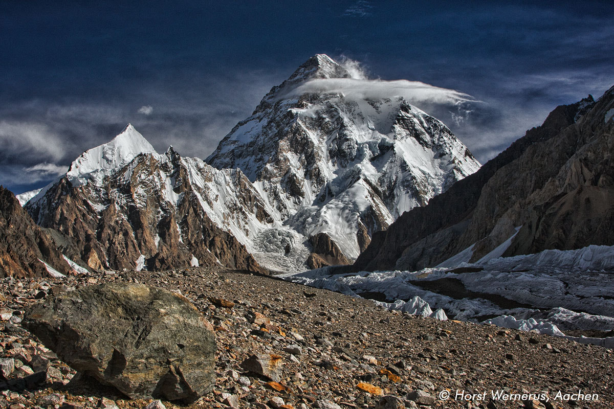 Photograph K2 (8611m) Karakorum by Horst Wernerus on 500px