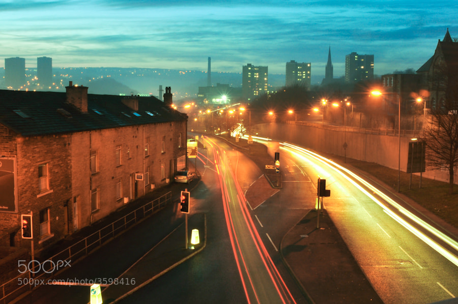Photograph Halifax at Night by Steve Whitaker on 500px