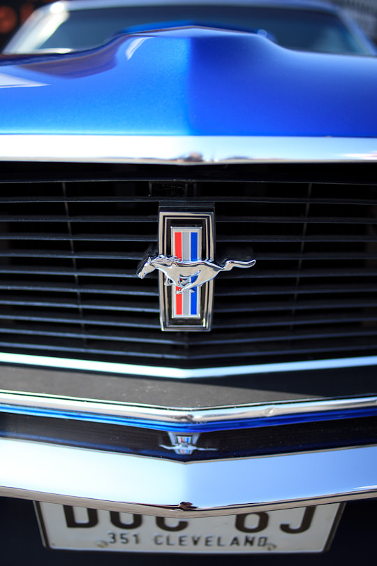 Ford Mustang Badge & Grill