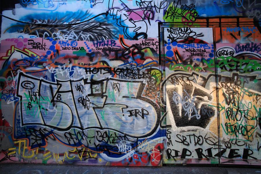 Southbank Graffiti