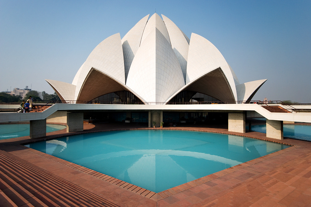 Photograph Lotus Temple by Dimetri Ins on 500px