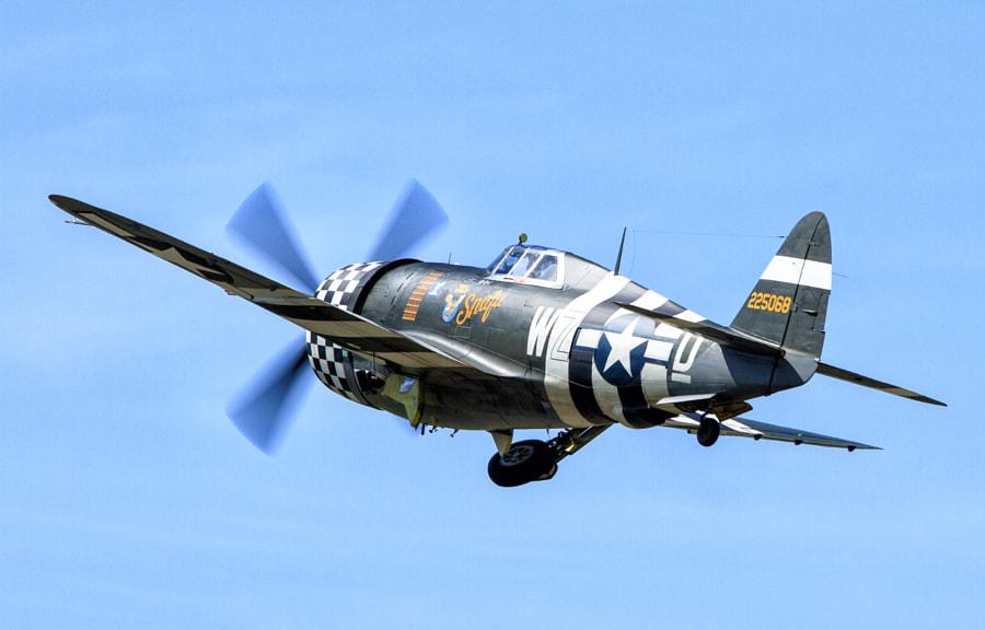 P-47 Snafu at Duxford 2013