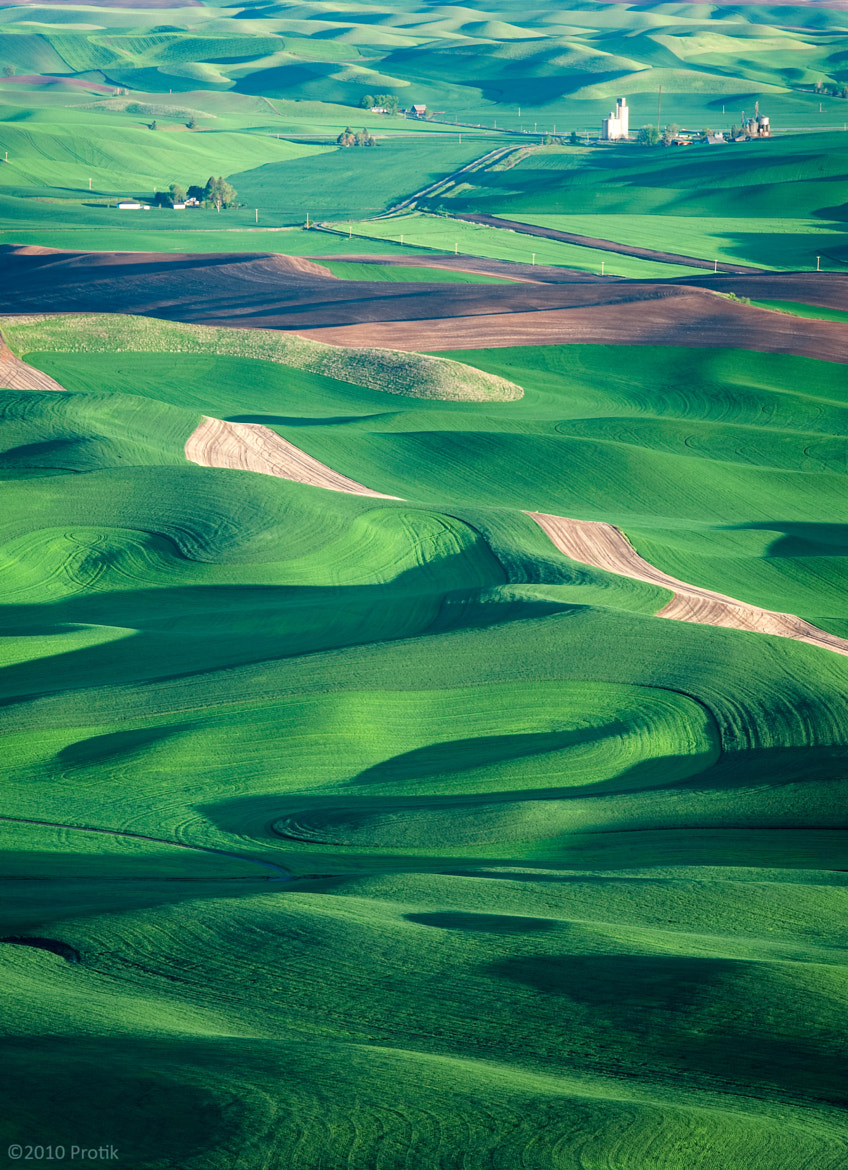 Photograph Rolling hills of Palouse by Protik Hossain on 500px