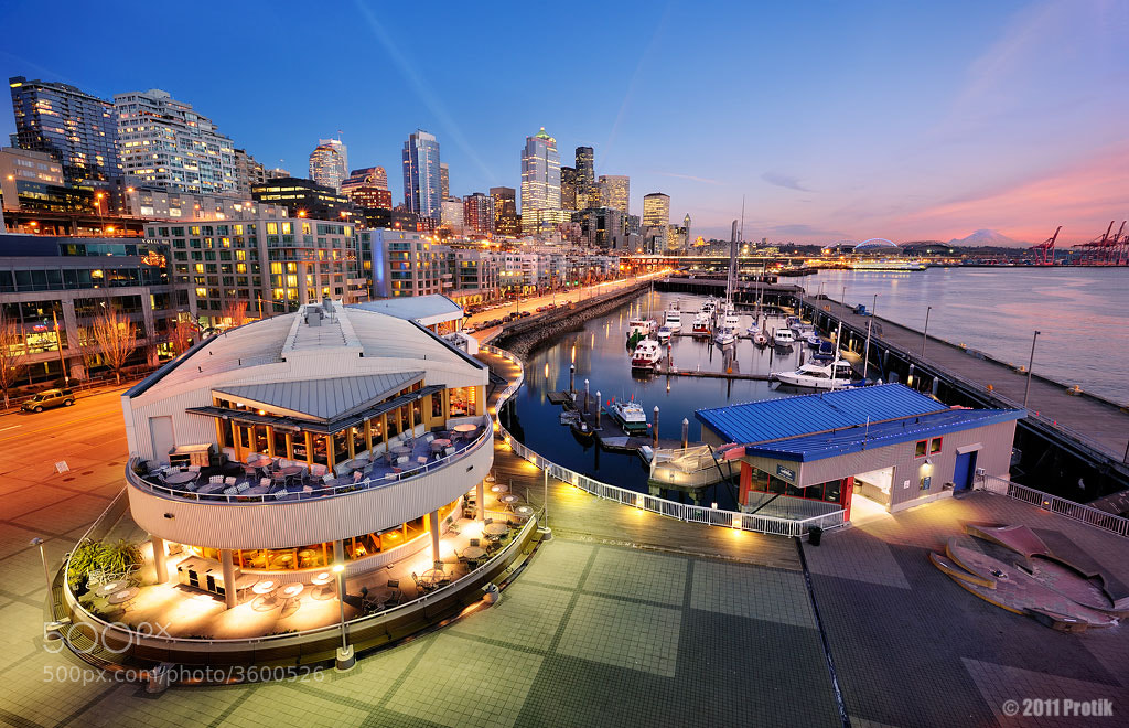 Photograph Pier 66, Seattle by Protik Hossain on 500px