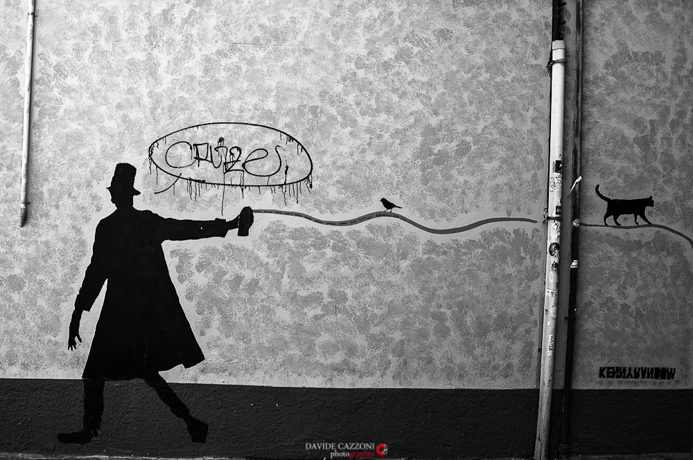 Photograph Street artist by Davide C. on 500px