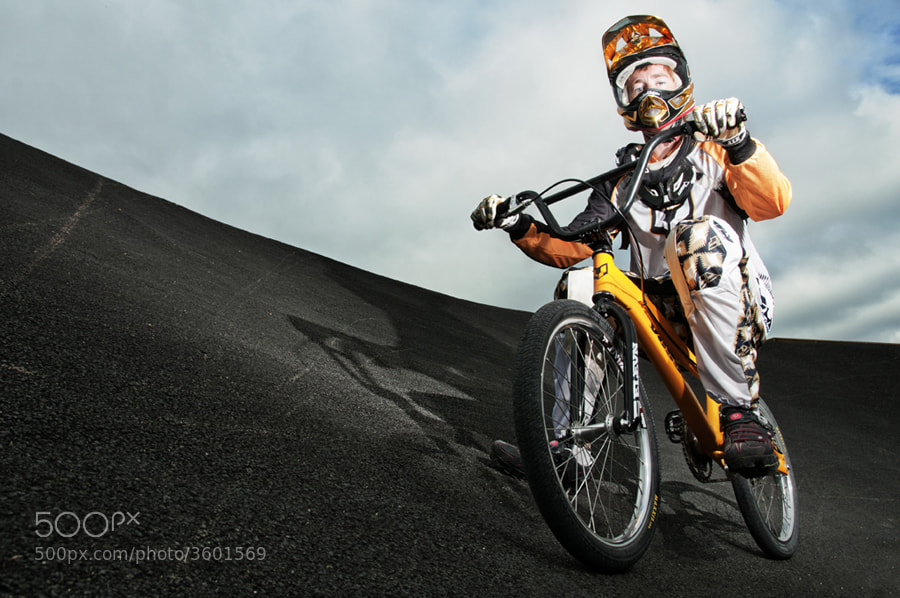 Photograph NZ BMX Champion Kurt James by XAVIER WALLACH on 500px
