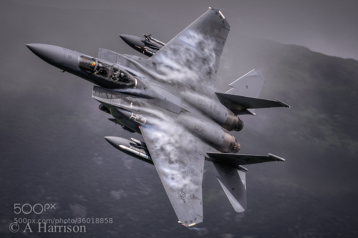 Photograph F15E Strike Eagle by Adrian Harrison on 500px