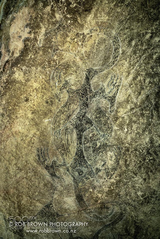 Photograph Maori Rock Art by Rob Brown on 500px