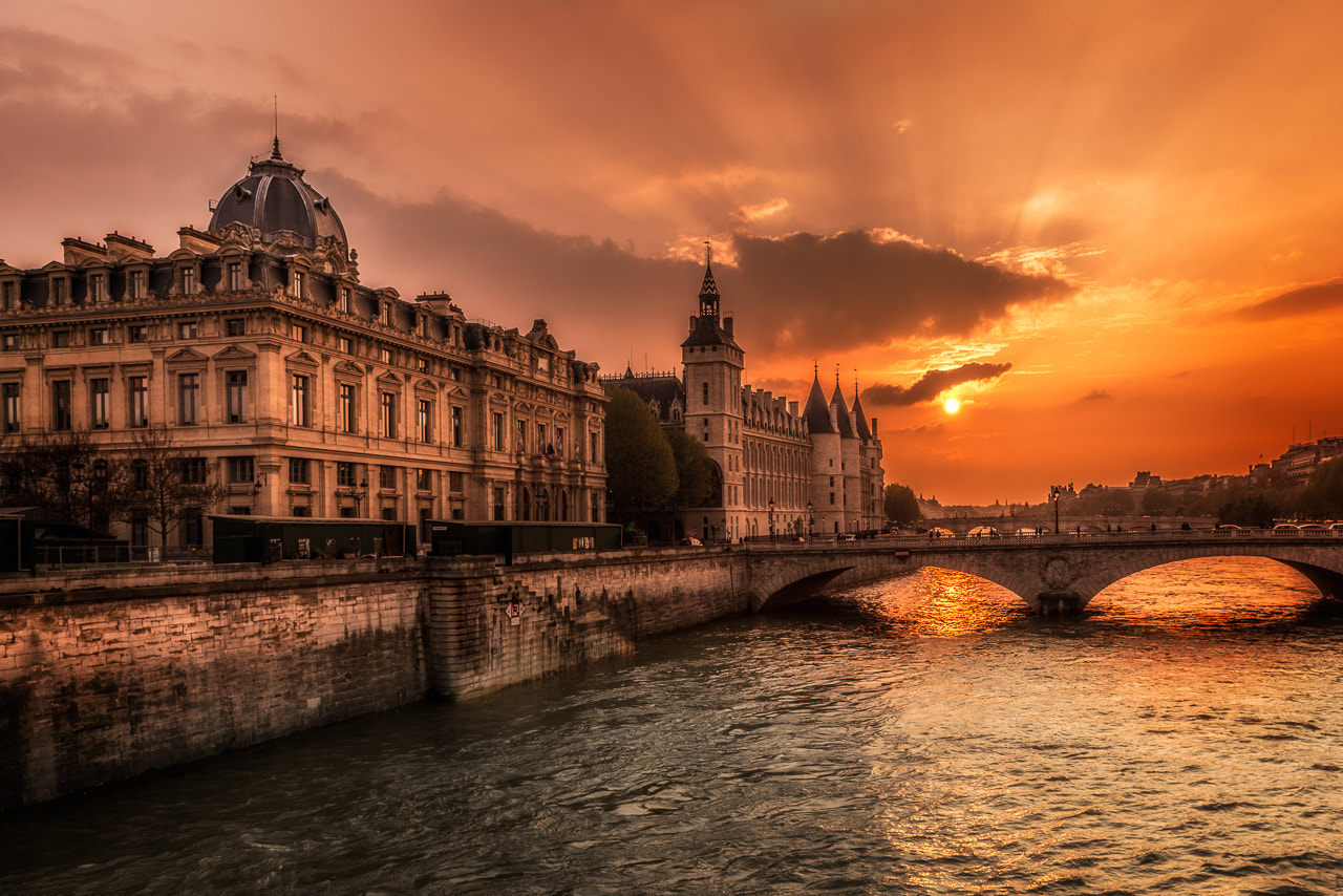 Photograph Paris Bridge by Ramy Abou Antoun on 500px