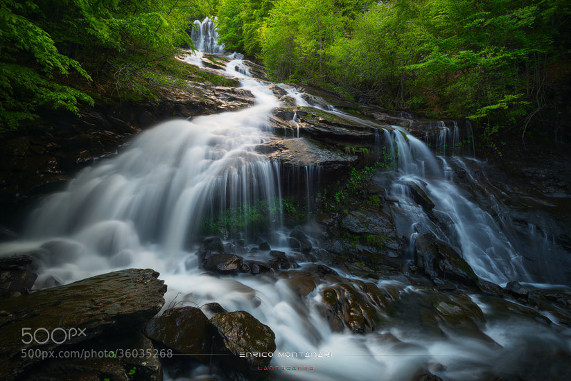 Photograph Doccione waterfall by Enrico Montanari on 500px