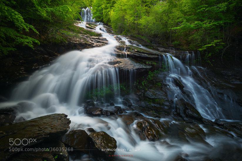 Photograph Doccione waterfall by Enrico Montanari on 500px