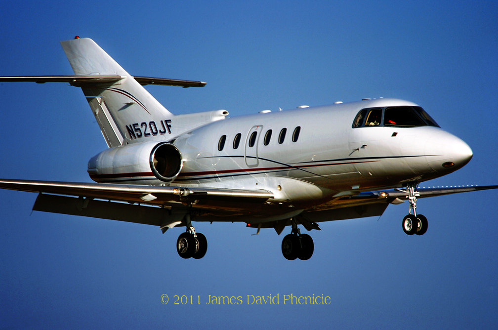 Photograph Aircraft Series:  Hawker 800XP by James David Phenicie on 500px