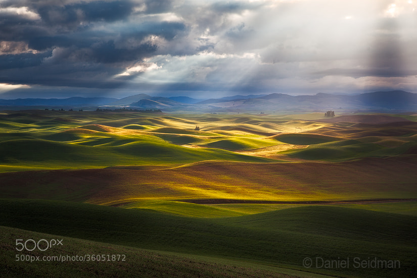 Photograph Palouse Spotlight by Danny Seidman on 500px