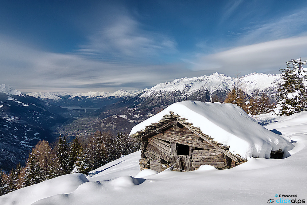 Photograph Winter Postcard by Francesco Vaninetti on 500px