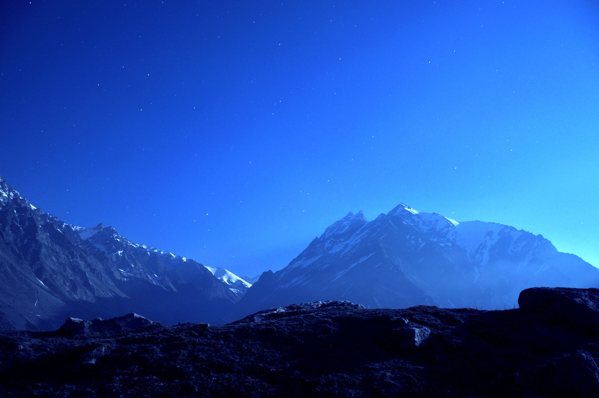 Photograph the blue is YOU.. by Partha Das on 500px