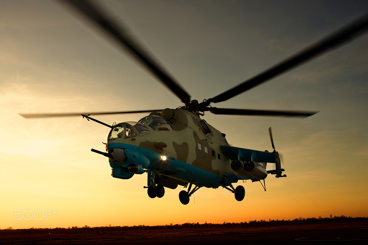 Photograph helicopter by Ivan Kurchenko on 500px