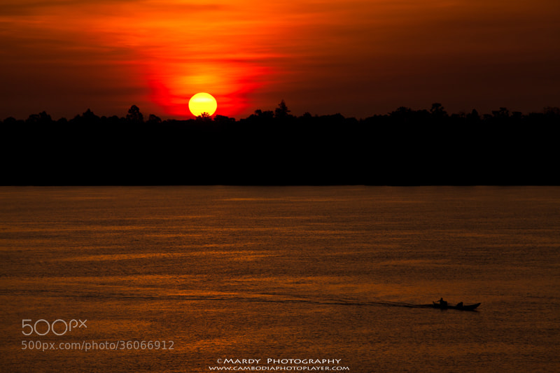 Photograph Sunrise at Mekong River ! by Mardy Suong Photography on 500px